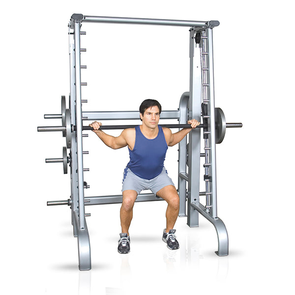 Inflight Fitness FreeWeight Plateloaded Counter Balanced 5003 Smith Machine