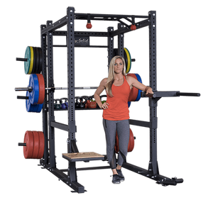 body solid commercial extended power rack package altitude fitness