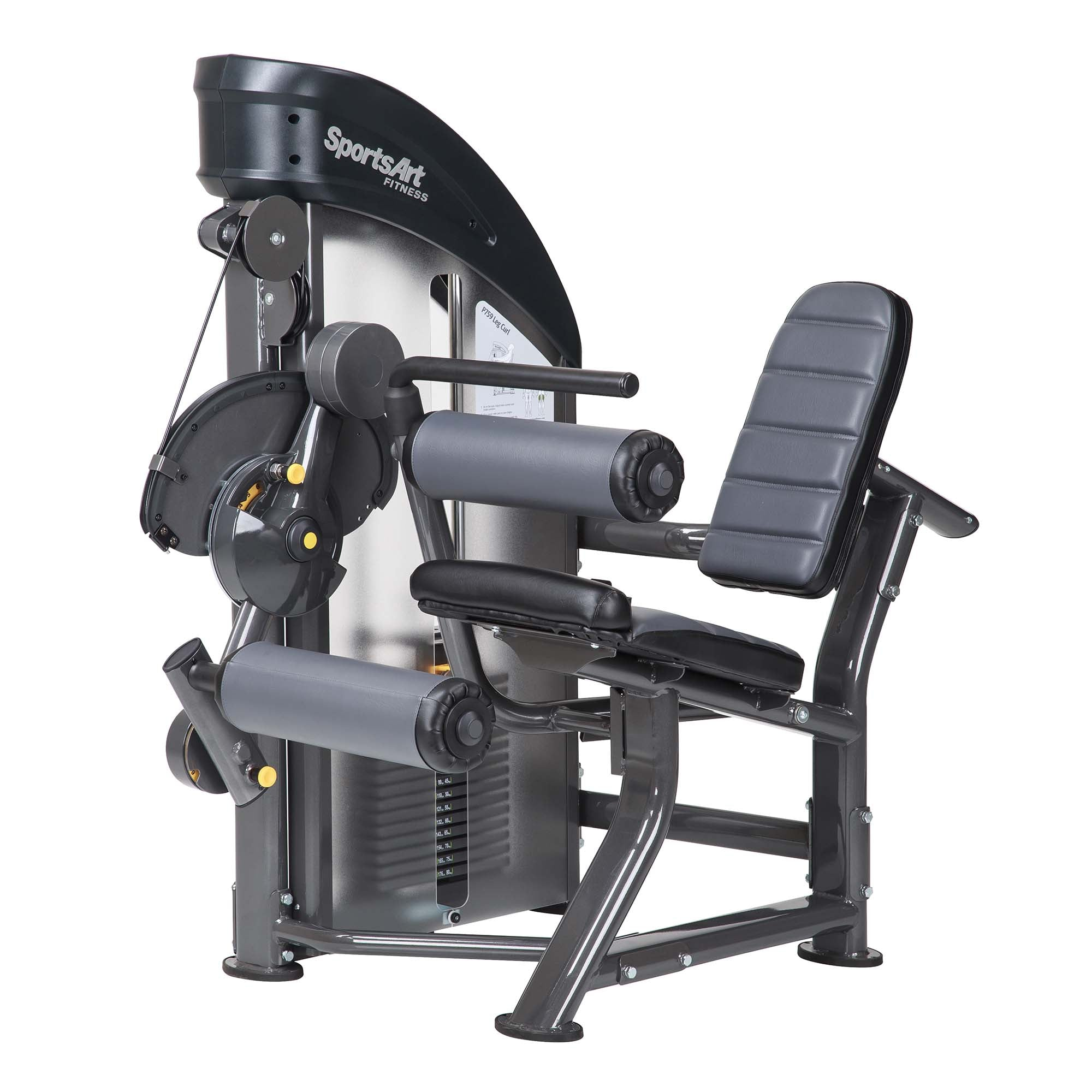 SportsArt P759 PERFORMANCE LEG CURL Machine