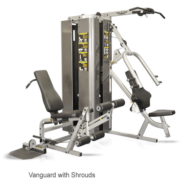 Inflight Fitness Vanguard 2 Stack, 3 Station with/without Full Shrouds Multi-Gym Training System