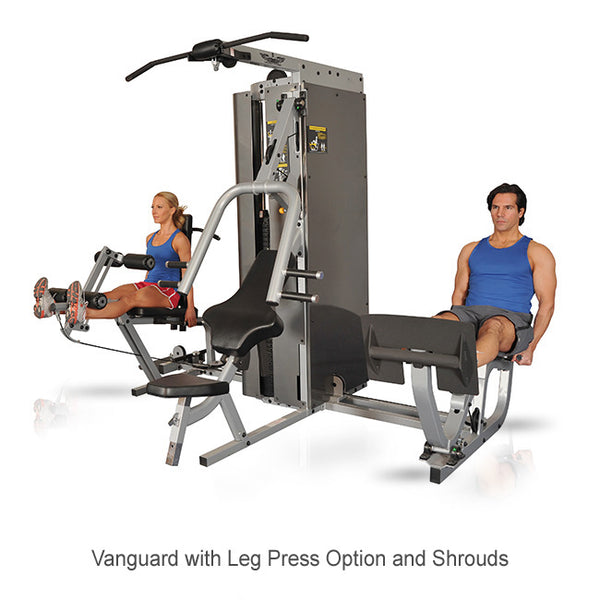 Inflight Fitness Multi-Gym Training System Vanguard Leg Press Option - Shared Stack
