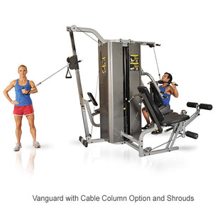 Inflight Fitness Multi-Gym Training System Vanguard Cable Column Option - Shared Stack
