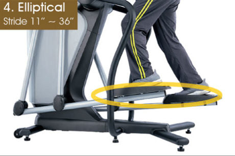Brigadoon Fitness BRI-VMT7500-S Variable Motion Trainer/Free Strider