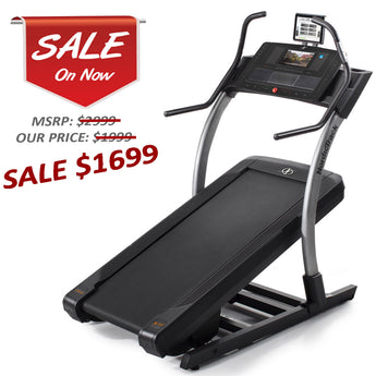 Nordic Track X11i Incline Trainer Certified Refurbished with 3 Year Parts and Labor Warranty