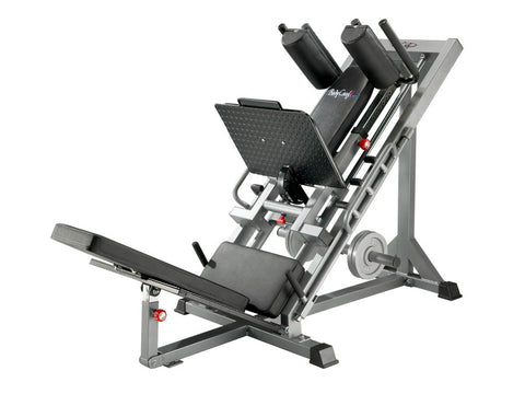 BodyCraft F660 Hip Sled, Linear Bearing, Calf Block, Leg Press, Hack Squat, Donkey Calf