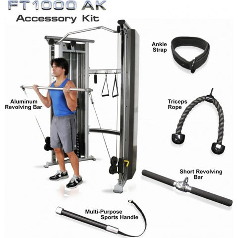 Inflight Fitness Functional Trainer FT1000 5 Piece Accessory Kit