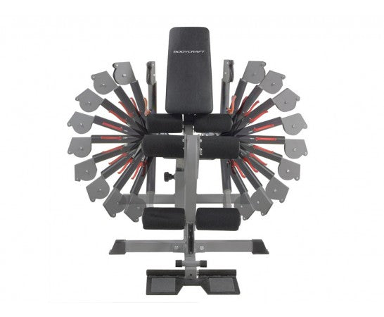 BodyCraft GLX 150lb Single Stack Gym w/Functional Cable Arms and Stack Guards Strength Training System