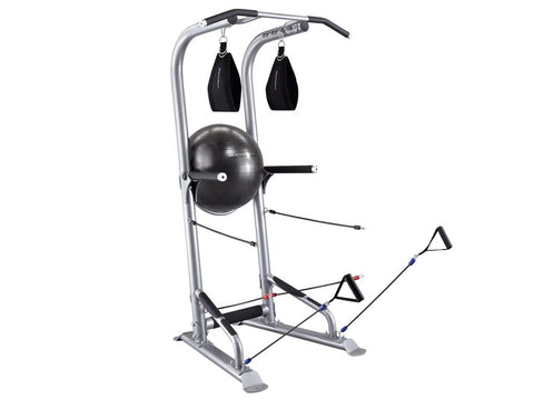T3 Total Training Tower, w/Ball, Hanging Ab Straps & 3 sets of Power Bands
