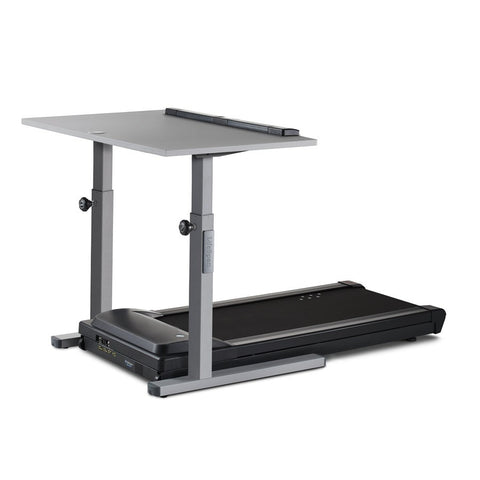 "LifeSpan TR5000-DT5S 38"" and 48"" Gray Treadmill Desk"