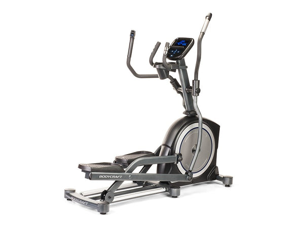 "BodyCraft Elliptical Cross Trainer, GreenGen, 23"" Stride, BluView HC Display"