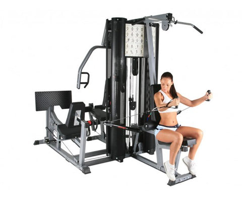 BodyCraft X2 Gym w/ 2 x 200lb Wt Stacks & Leg Press