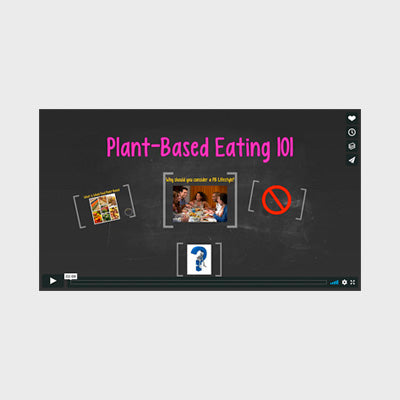 Plant-Based Eating 101 (Jump Prep Video)