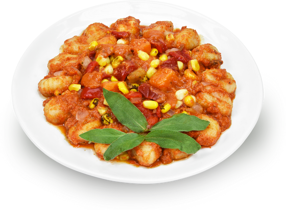 Gnocchi with Sweet Potatoes