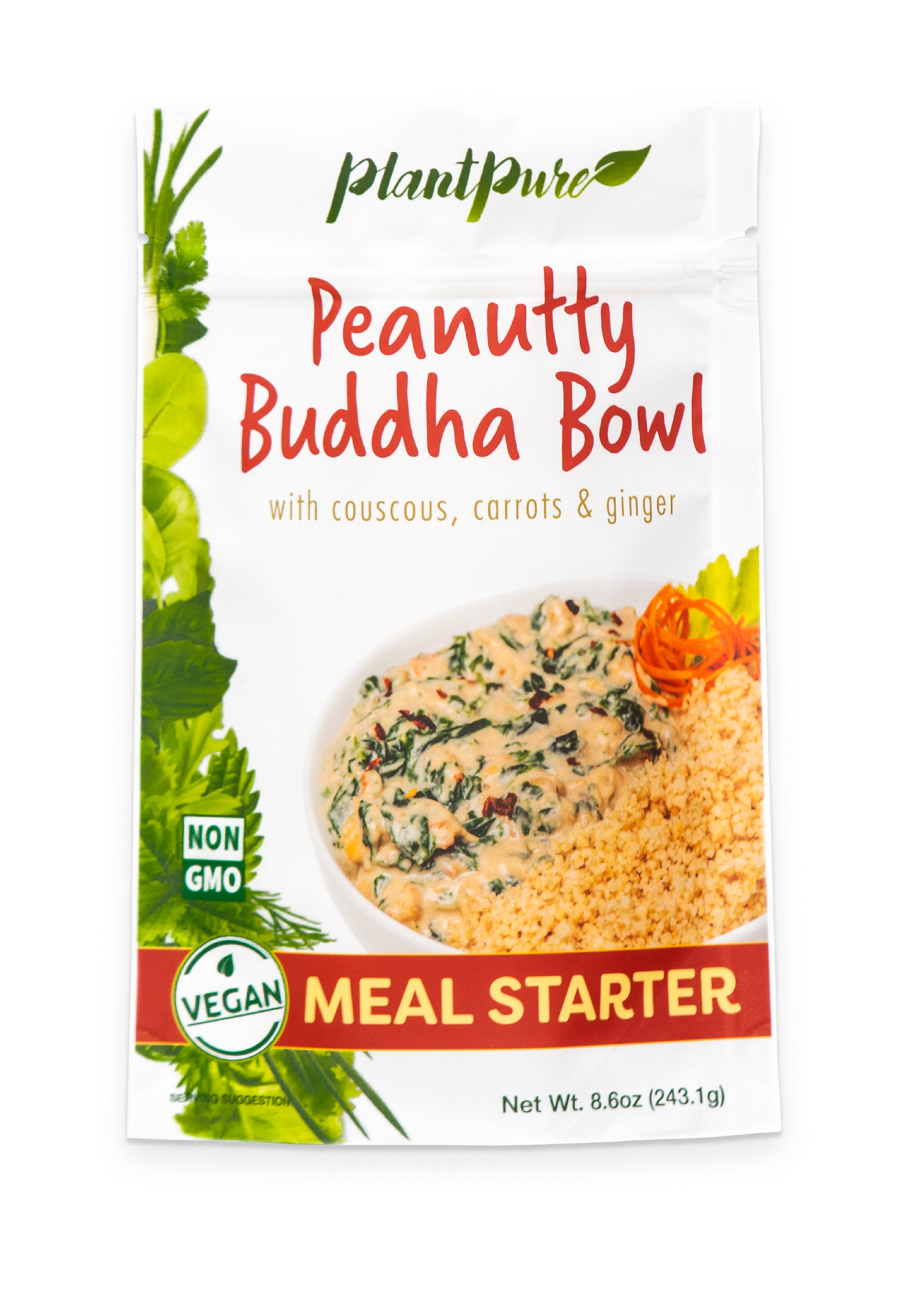 Peanutty Buddha Bowl