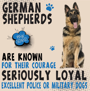 German Shepherd Dog Trait range of PAWSOME Gifts for all the family