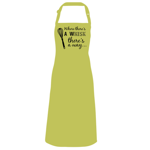 Where there's a whisk, there's a way Apron
