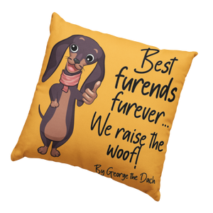 Best Furends Furever Dog Cushion