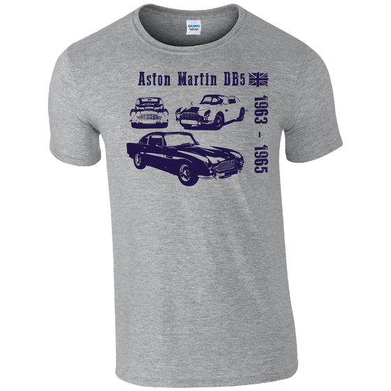 Aston Martin DB5 Classic Car T-shirt