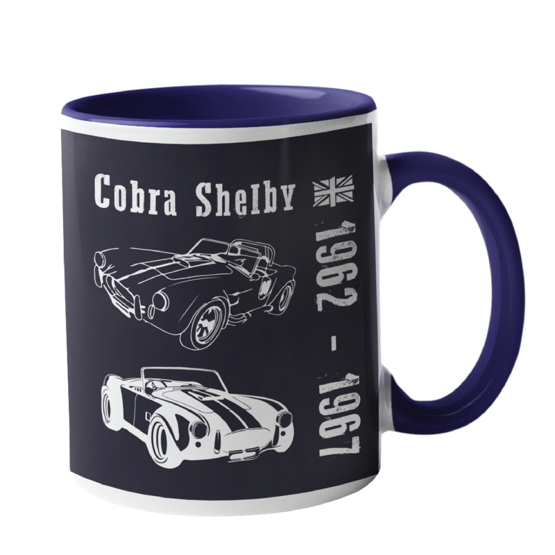Cobra Shelby, Classic Car Mug