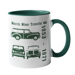 Morris Minor Traveller, Classic Car Mug