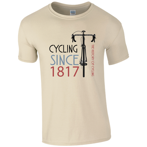 CY015 The History of Cycling T-Shirt