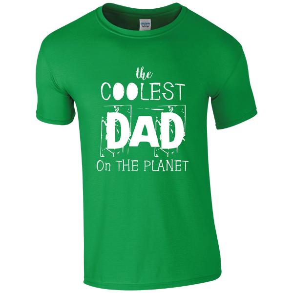 G2HO Designs The Coolest Dad on the Planet T-Shirt