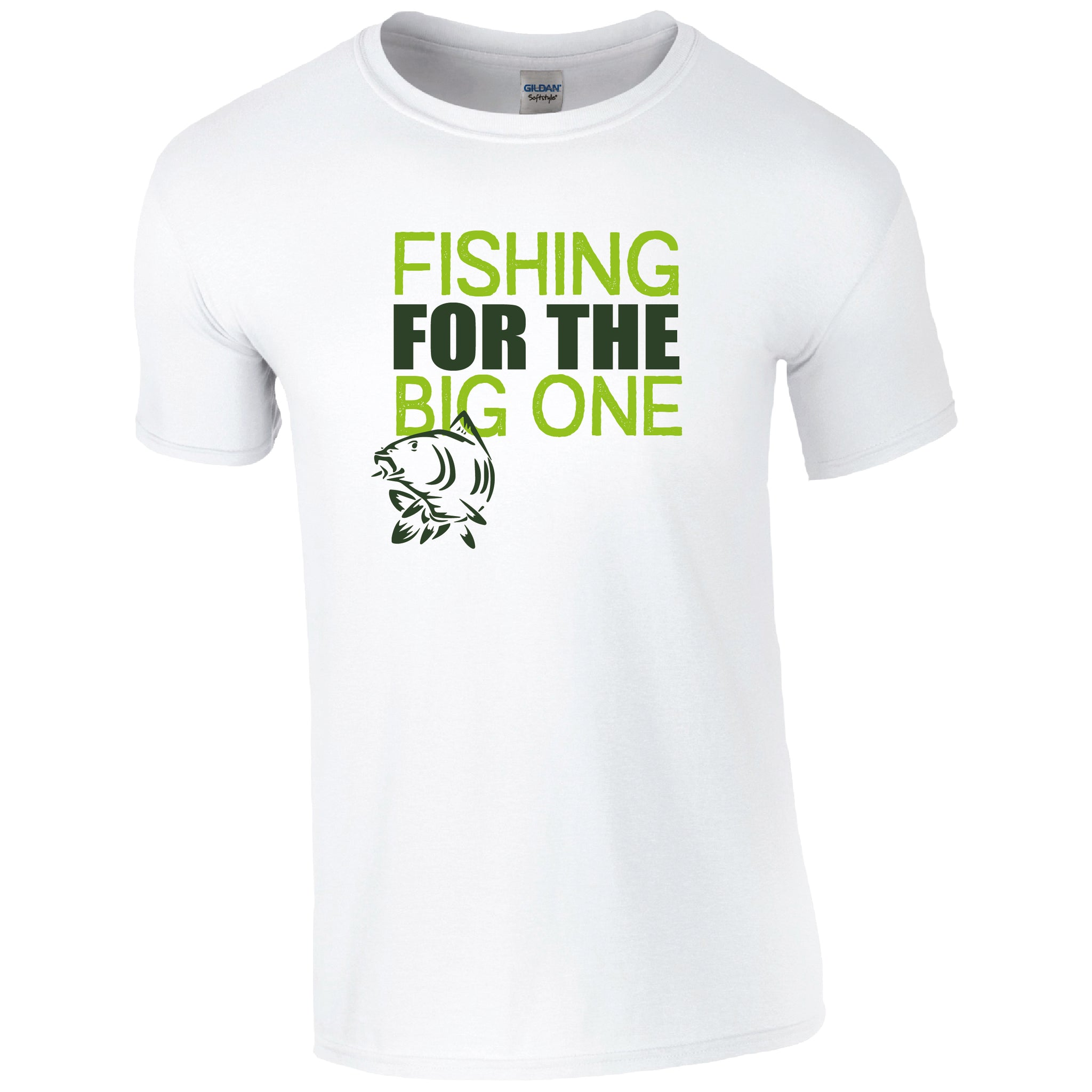 Fishing for the big one, Fishing Humour T-shirt