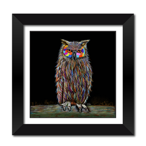 Hooter The Owl Framed Print