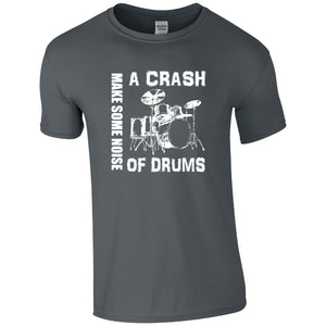 A Crash of Drums Music T-Shirt