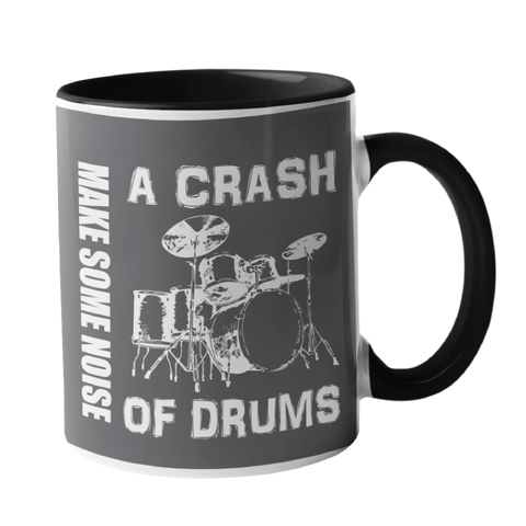 A Crash of Drums Music Mug