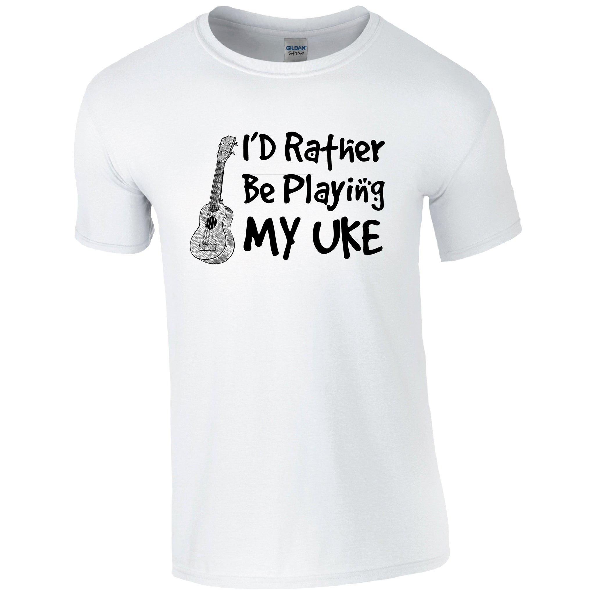 I'd rather be playing my UKE Music T-Shirt