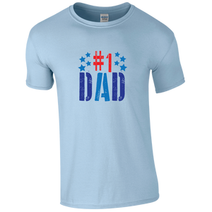 #No1 DAD T-shirt