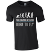 The Evolution of Flying, Born to Fly T-shirt