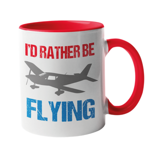 I'd Rather Be Flying Mug