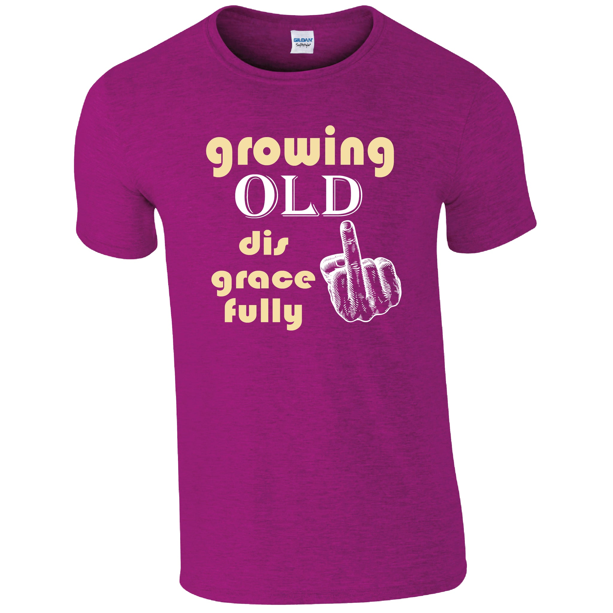 Growing Old Disgracefully!  Humour T-shirt