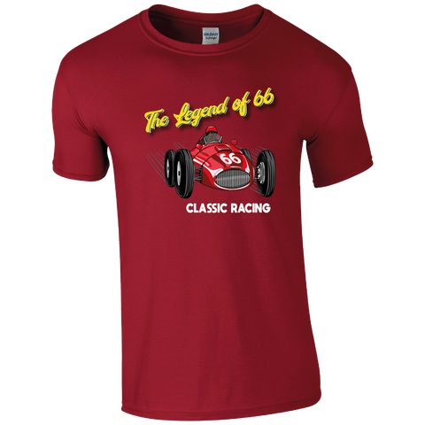 The Legend of 66 Classic Racing T-shirt