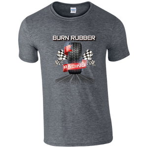 Burn Rubber Racing T-shirt