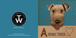 A is for Airedale Greeting Card Pack