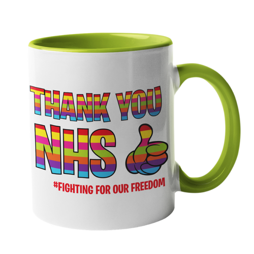 Thank you NHS Rainbow Tote Bag