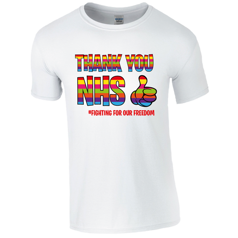 Thank you NHS Rainbow Thumbs up  T-Shirt