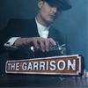 The Garrison Peaky Blinders Rust Finish Road Sign