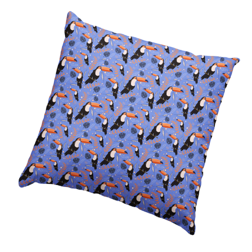Toucan Soft Touch Cushion