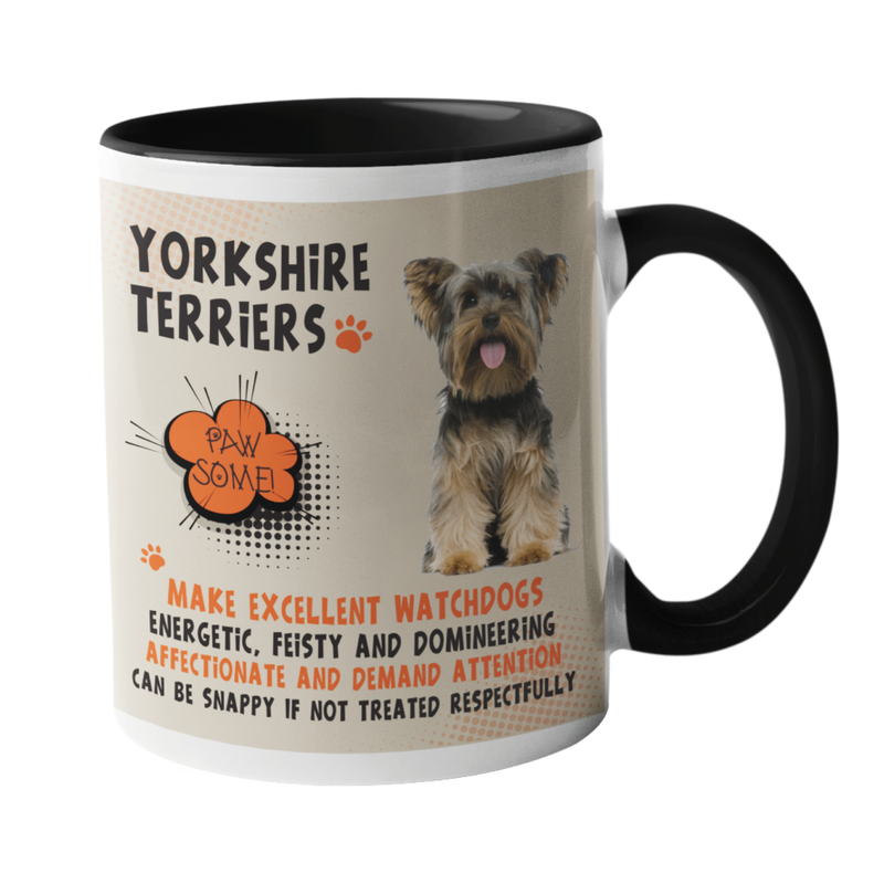 Yorkshire Terriers Dog Breed Mug