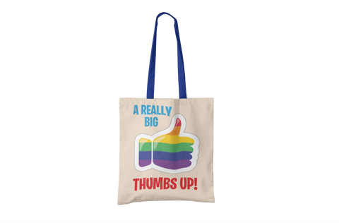 A Big Thumbs Up Tote Bag
