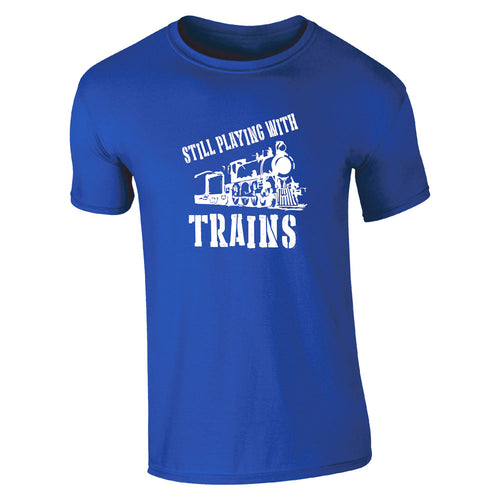 Still Playing With Trains, The History of Trains T-Shirt