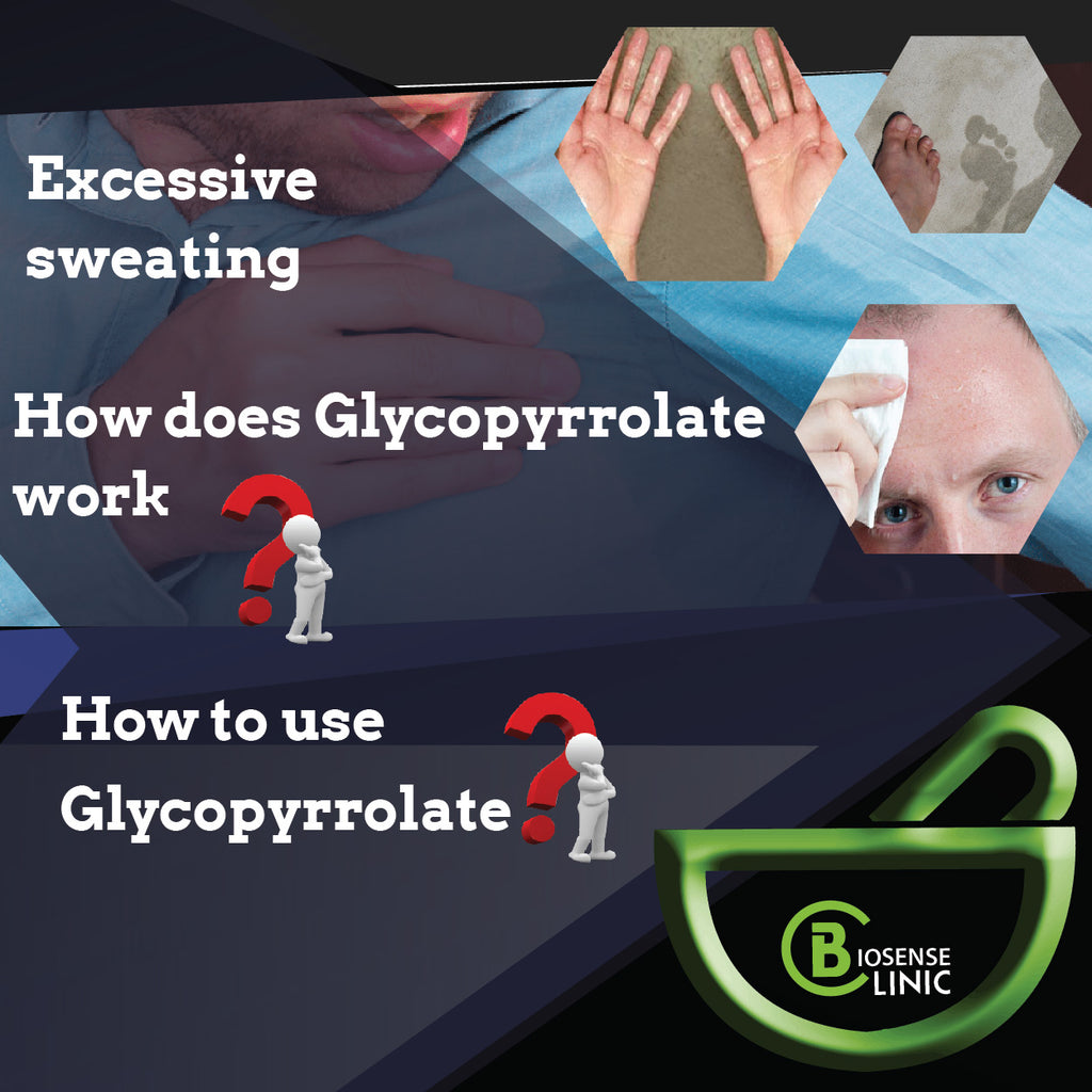 How does Glycopyrrolate work?
