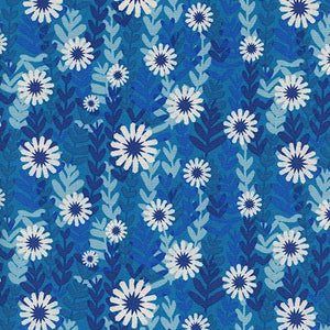 Freshly Picked - Daisies Fabric - Trapunto