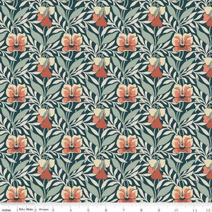 Hesketh House - Harriet's Pansy Fabric - Trapunto