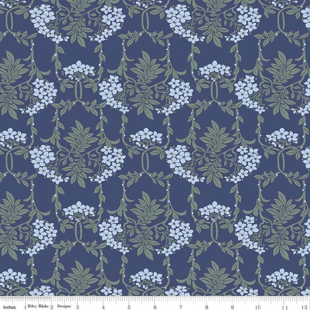 Hesketh House - Nouveau Mayflower Fabric - Trapunto