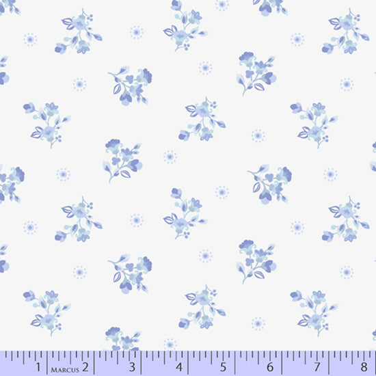 Celeste - Bunches Fabric - Trapunto